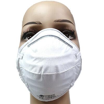 20x FFP2 NR D Atemschutzmaske gewölbt Nitras 4120SI CE2834 Unisex Erwachsene