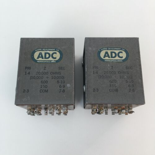 Pair ADC Audio Development Company 114E Tube Audio Output Transformers