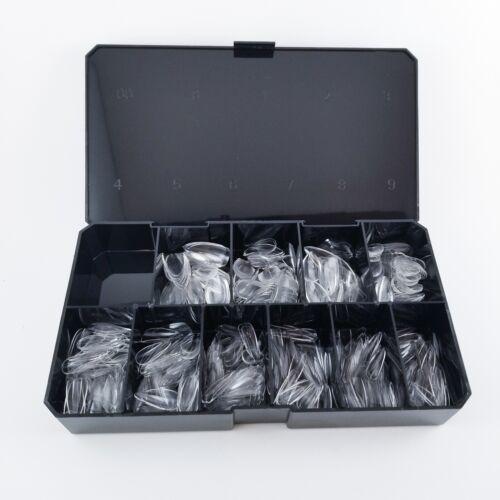 Apres Natural Stiletto Short 🔥 500pcs Tips Box  💅