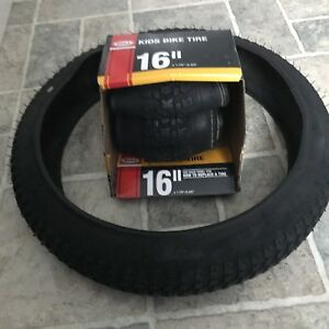 "Brand new 16"" kids bike tires"