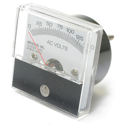 Analog Panel Meter 0 - 150 Volt Ac 2 Inch