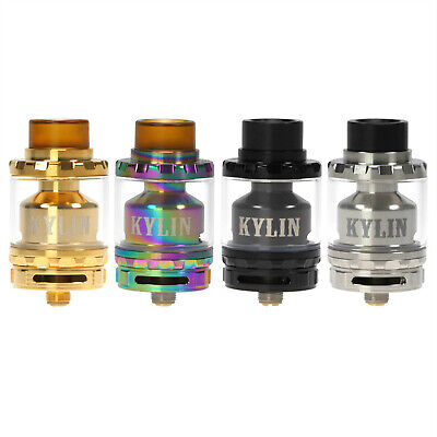 Verdampfer VandyVape Kylin RTA 6,0ml E-Zigarette Clearomizer 24mm DL Dual Coil Dual Coil