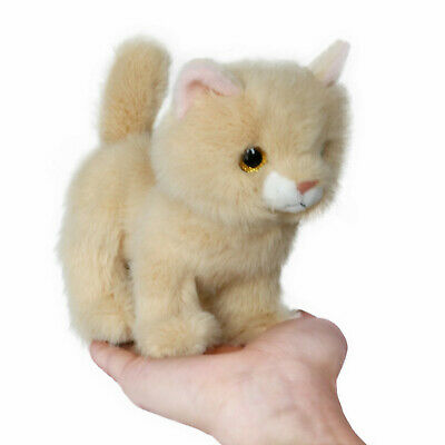 Little Stuffed Animals (Fluffy Little Cat Stuffed Animal Toy 6 Inches(Camel) - By ICE KING BEAR)