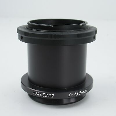 Leica F250mm Surgical Microscope T2 Camera Adapter Nikon Dslr Mount 10445322