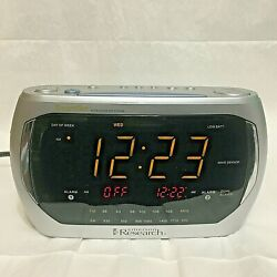 Emerson Research, Auto Smart Set, Dual Alarm, LED, Clock Radio, CKS3020 !!!
