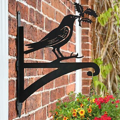New Raven Holding Holly Iron Hanging Basket Bracket - 48cm x 33m