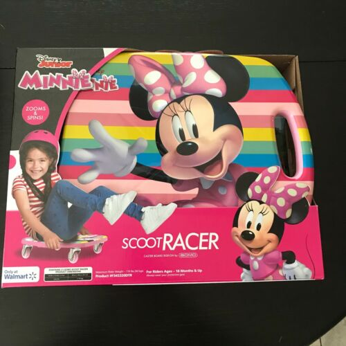 Disney Minnie Mouse Scoot Racer Ride On Caster Board