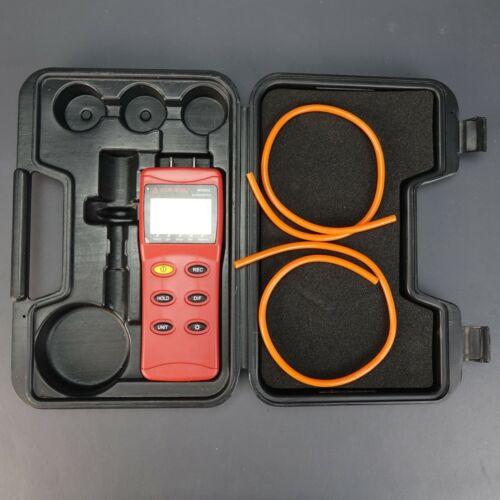 AMPROBE MAN02 HVAC Differential Pressure MANOMETER with CASE - Works