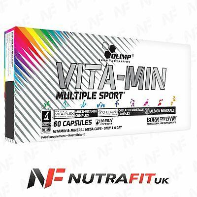 OLIMP VITAMIN MULTIPLE SPORT mega caps multi vita-min minerals