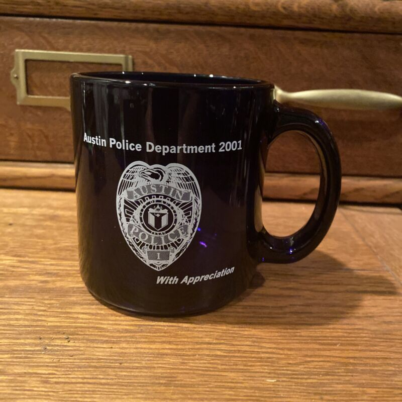 Austin Police Department coffee mug