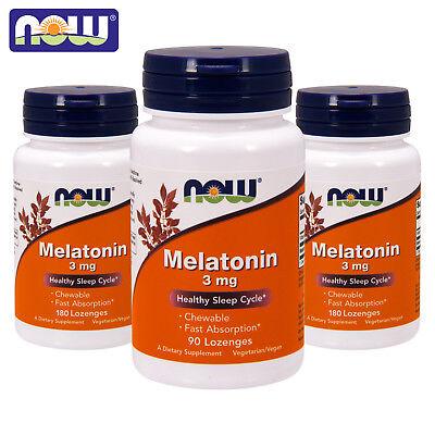 MELATONIN BEST SLEEP SUPPLEMENT 3 mg Sleep Aid - Serotonin Veg Capsules