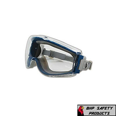 Lab Safety Goggles Chemical Splash Clear Anti-fog Lens Uvex Stealth S39610c