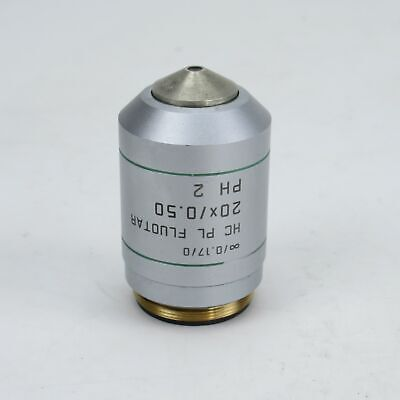 Leica Hc Pl Fluotar 20x0.50 Ph2 Phase Contrast Microscope Objective - 506506