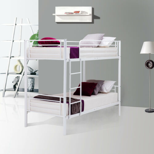 metal twin over twin bunk beds frame