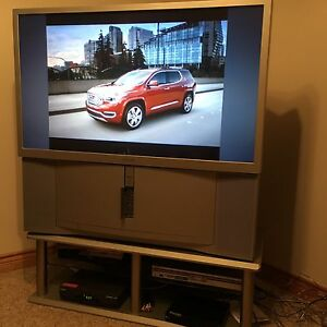 "Sony 46"" widescreen projection TV"