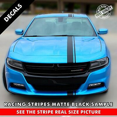 Single Offset Rally Racing Stripes For Any Car. One Stripe 72