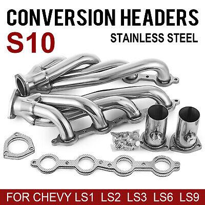 LS S10 Conversion Swap Headers (LS1, LS2, LS3, LS6, LS Engines) Truck & SUV