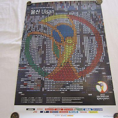 2002 FIFA World Cup FIFA Official Korean Venue City, Ulsan Poster