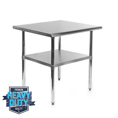 Open Box - Stainless Steel Commercial Kitchen Work Food Prep Table - 24 X 30