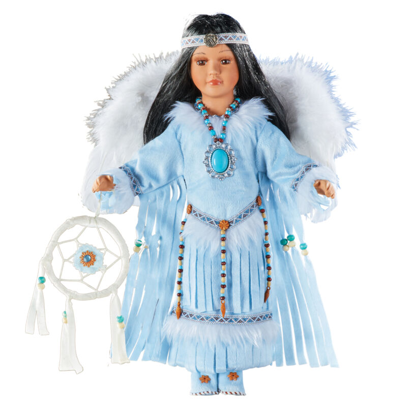 Heritage Collection Native American Angel Porcelain Doll