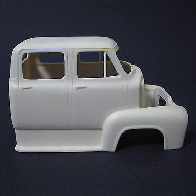 Jimmy Flintstone '53 Ford Cab-Over Truck Cab Resin Body #295 for sale  Shipping to India