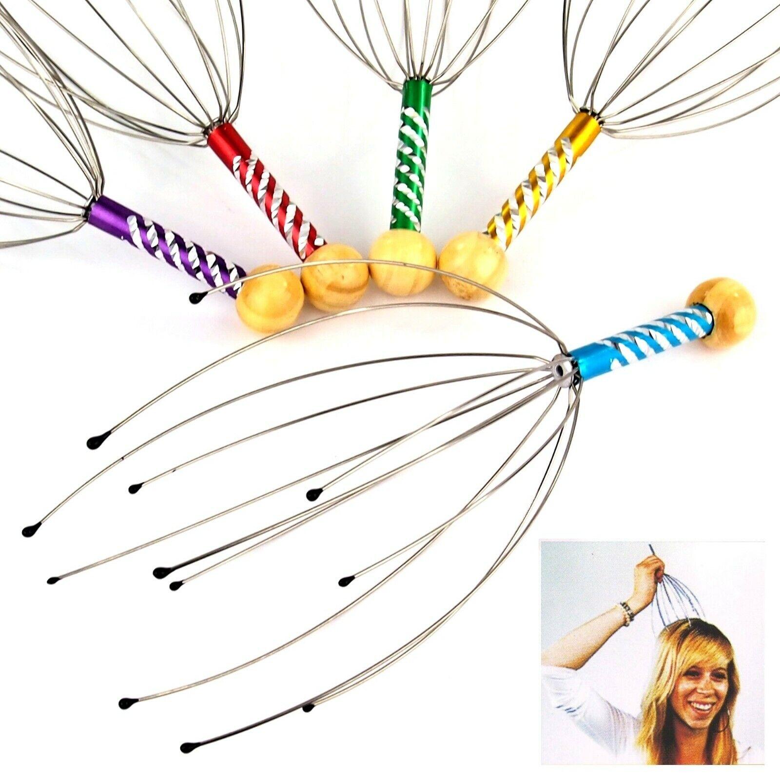 Premium Kopfmassagegerät Kopfmassage Massage Kopfkrauler Wellness Entspannung