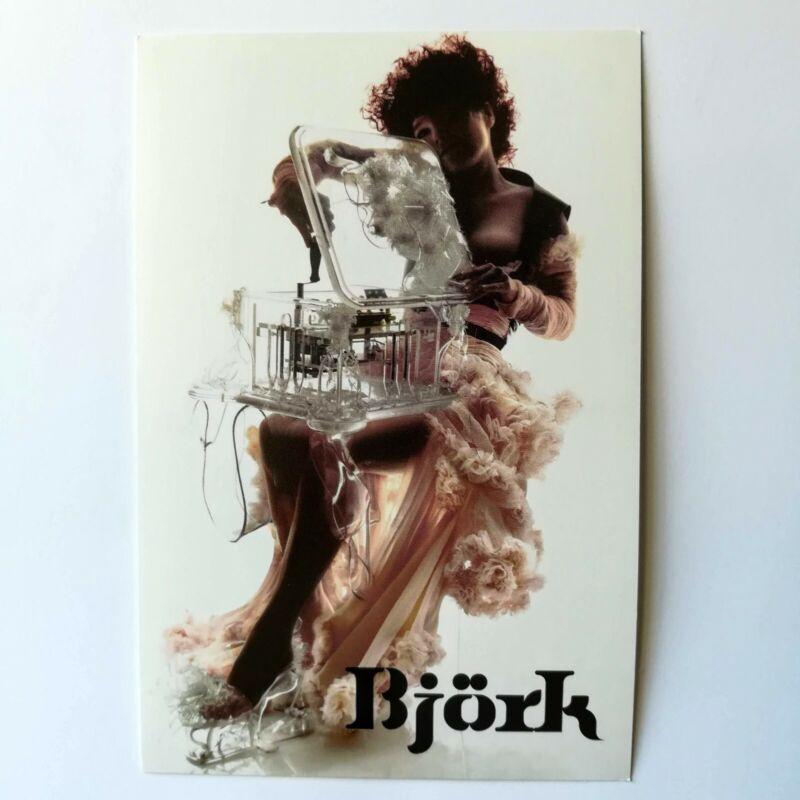 Bjork Promo Postcard Live Boxset 2003 One Little Indian Records