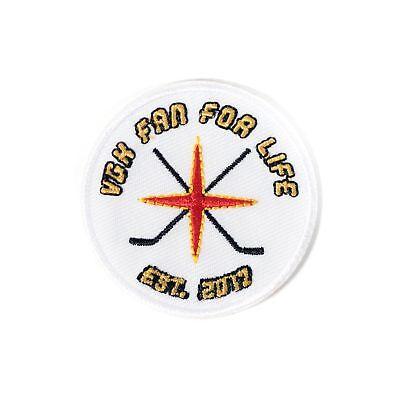 Vegas Golden Knights VGK Fan For Life Est. 2017 Patch