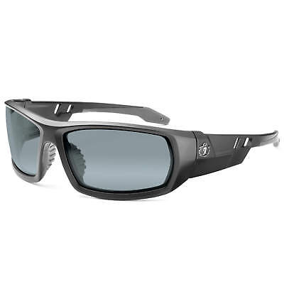 Skullerz Odin Safety Glasses with Silver Mirror Lens and