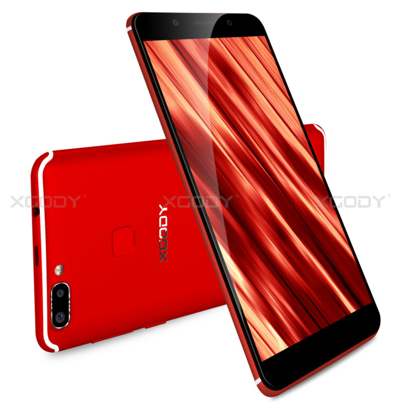 Android Phone - Unlocked 6.0' 18:9 8GB Quad Core Android 5.1 Dual SIM 3G Smartphone Mobile Phone