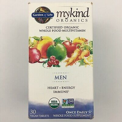 Garden Of Life Mykind Organics Men Multivitamin Heart Energy