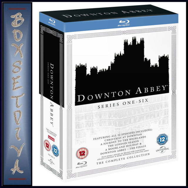 DOWNTON ABBEY -SERIES 1 2 3 4 5 & 6 PLUS SPECIALS & FINALE **BRAND NEW BLURAY**