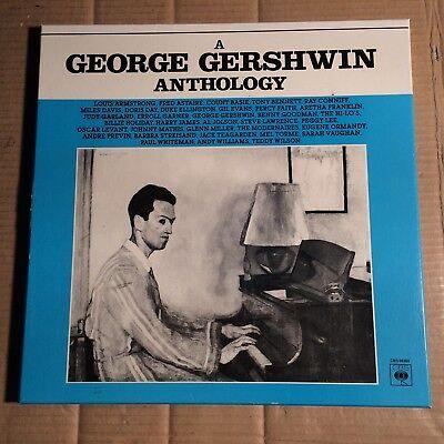 GEORGE GERSHWIN - ANTHOLOGY - 3-LP-BOX - FRANCE 1981