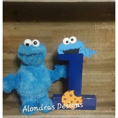 Cookie Monster Birthday Party Supplies (Cookie monster birthday party supplies,cookie monster)