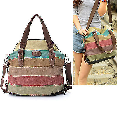 New Women Handbag Satchel Crossbody Tote Women Hobo Purse Messenger Canvas