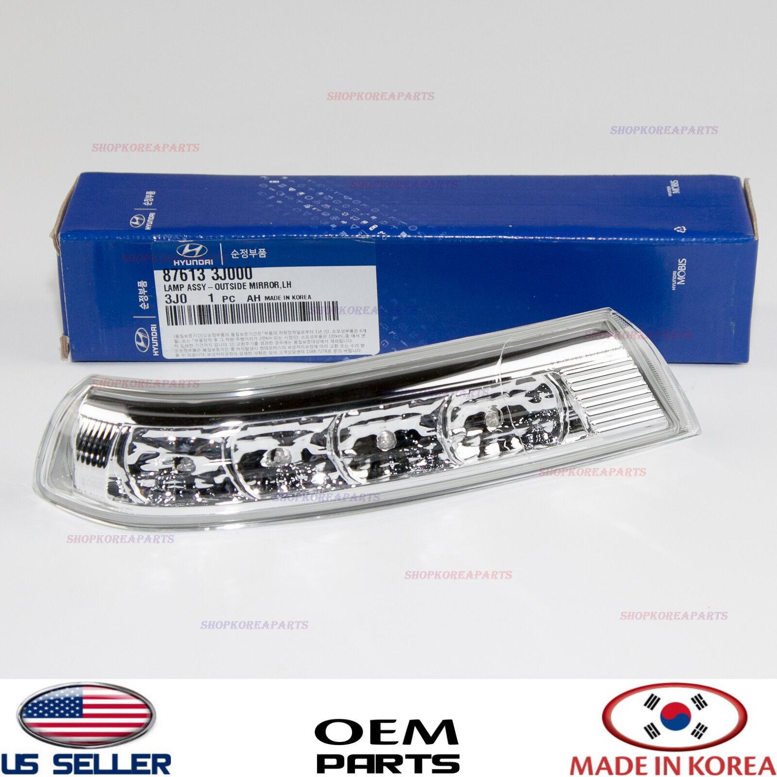 Hyundai Veracruz 2007-2012 GENUINE OEM Side Mirror Signal Lamp REPEATER 2P Set
