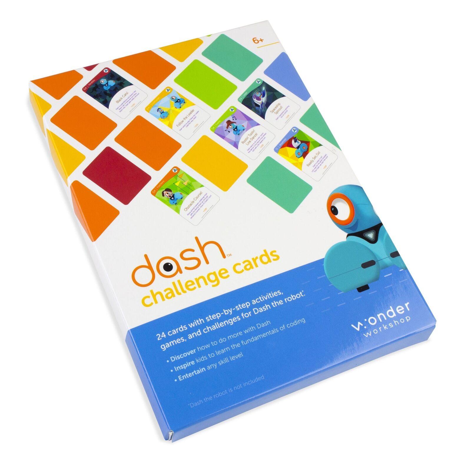Details about Wonder Workshop Challenge Cards Accessory for Dash STEM  Coding Robots