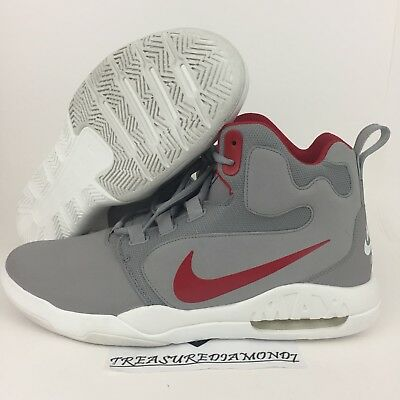 Nike Air Conversion Men's Basketball Shoes Sneakers 861678-004 Gray Size 13