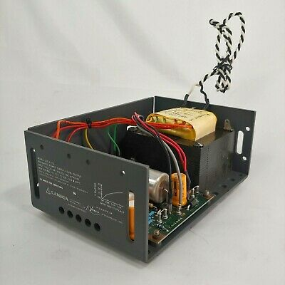 Lambda Lod-x-152 Regulated Power Supply Dual Output 105-125 Or 210-250 Vac