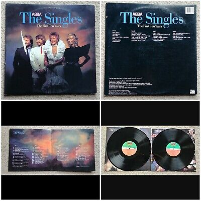 "ABBA The Singles The First Ten Years LP Vinyl Record 12"" POP DISCO 1982 Atlantic"