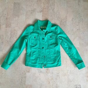 Green Old Navy Jean Jacket, XS/S