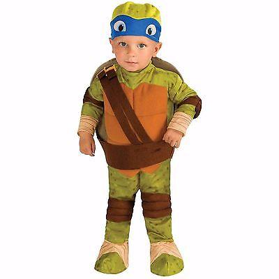 Teenage Mutant Ninja Turtle Leonardo Toddler Halloween Costume, Size 2T](Ninja Turtle Toddler Halloween Costume)