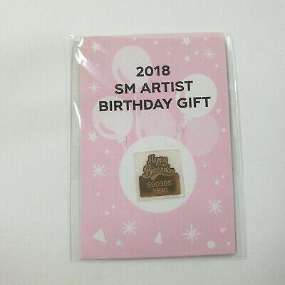 Red Velvet 2018 SM Artist Birthday Gift Yeri version Sticker KPOP Official Goods