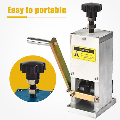 Mecor Manual Aluminum Allory Wire Stripping Machine Copper Cable Peeling