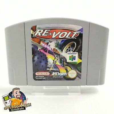 "Nintendo 64 Spiel "" Re Volt "" N64 | Modul Cartridge | PAL EUR"