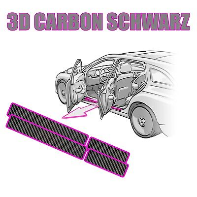 SEAT IBIZA 6F ab2017 Ladekantenschutz Lackschutz 5D Carbon schwarz Glanz