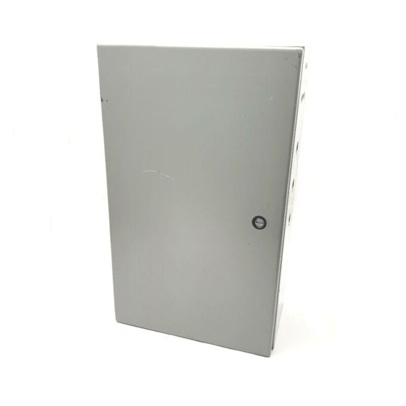 "Hoffman CSD20126 Concept Single-Door Enclosure 20"" x 12"" x 6"" NEMA 12, 4"