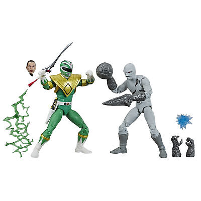 Power Rangers Lightning Collection Green Ranger and Putty -