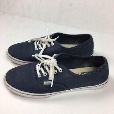 VANS Authentic Unisex Sneakers Navy Blue Size Men's 8 Women's 8.5