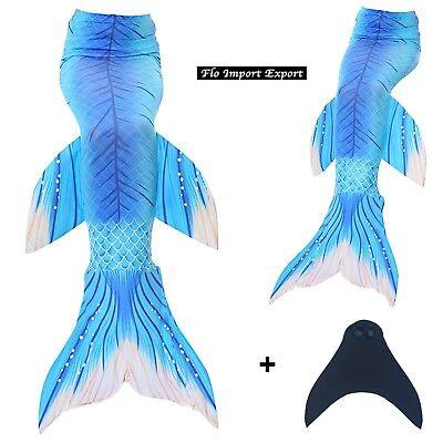 Kostüm Schwanz Sirene Monoflosse Schwimmen Baby Frau Swimsuit - Baby Schwimmen Kostüm